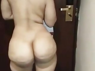 Chubby ass in hotel