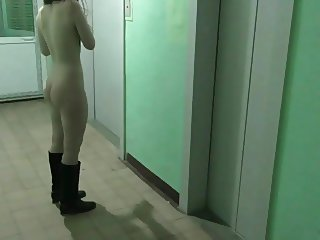 Public. We in the lift. Of couse with sucking