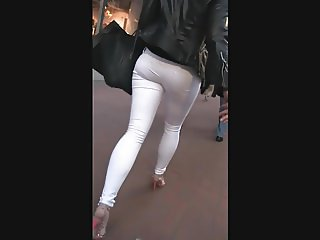 Wobbly White Jeans