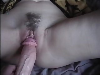 My wife with dildo