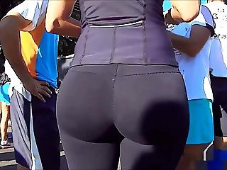 nice big ass in spandex