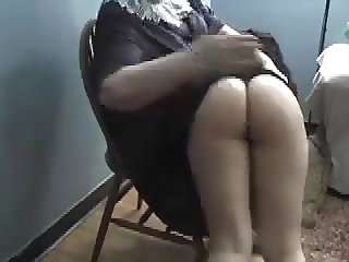Bubblebutt over the knee