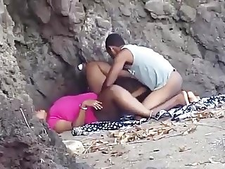Caught Fucking At The Beach