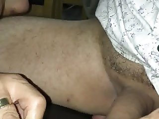 Look at that lovely big clit :)