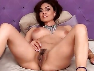 Hot Latina Rubbing Clit