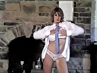 JUST CAN'T GET ENOUGH - vintage 80's big tits strip dancing