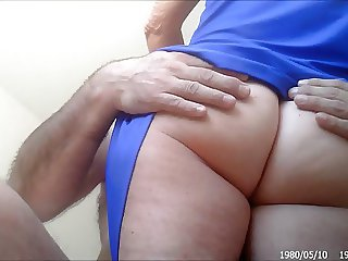 Other Nurse hidden upskirt pantyless from the floor