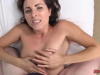 Helena Price Pumps Cum on Her Face