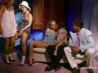 Aniko Jacqueline, Lovette and Dina Pearl Orgy