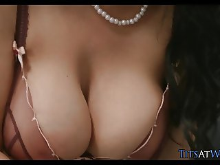 Boss with Big Tits gets what She Wants