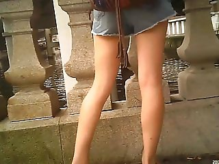 candid legs 1of2