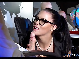 Getting Dick Sucked in Conference Room