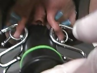 Labia stretching for the orgasms