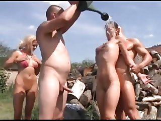 Nudism Summer Festivities