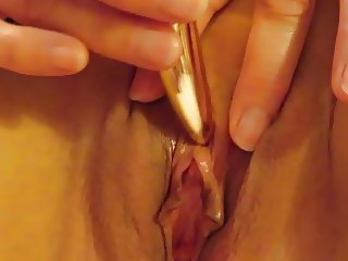 Playing with my clit