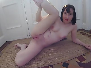 UK Wife Haley striptease showing everything