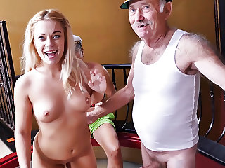 Kenzie Green Tries Anal With Old Men