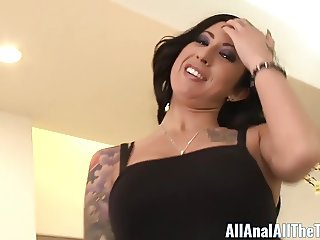 All Anal All The Time Tattooed Babe Lily Lane Gets Ass Fucke