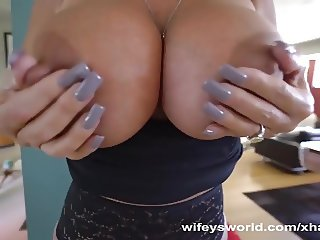 Big Titted MILF Gets Ass Eaten And Fucked