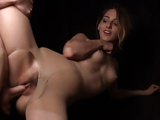 Cute Amateur Girl in Pantyhose Gets Fucked