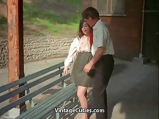 Teacher and Student Girl get Sexual Satisfaction (Vintage)