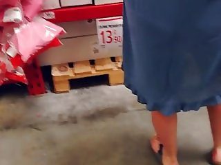 See trough+upskirt milf