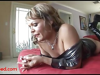 ugly old grandma gets fuck head by big black negro cock and