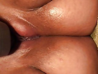 Horny wife having an orgasm with her vibrator