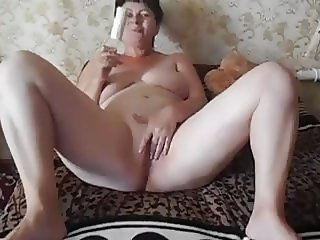 Mature with her husband. 244