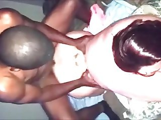 Amateur BBW Wife Pounded By BBC