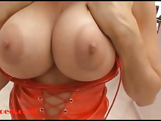 fat milf with big copy tits taking big black cock up her tin