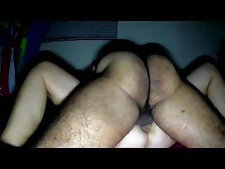 Hairy amateur wife quickie fuck after her orgasm