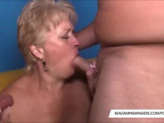 Hottie Wives Hungry On Three Cocks