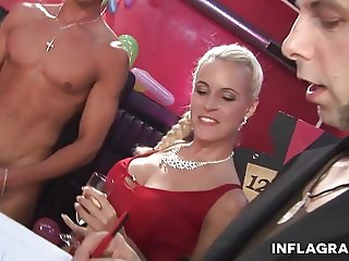 German Amateur Girls having fun in group