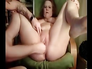 Granny fisted