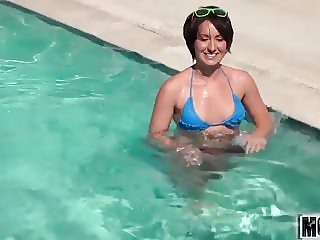 This Romantic Evening Includes Anal video starring Evelyn