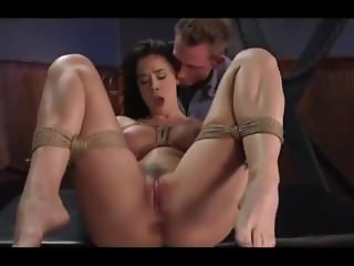 Big slutty She likes getting tied up and fucked hard every hole Anal BDSM