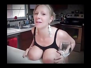 Big Boobed MILF Lactating Two