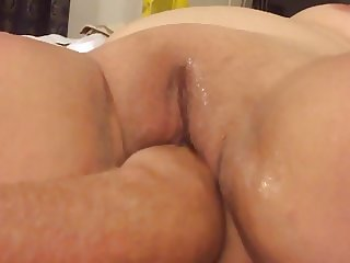 Mutual masturbating with a little fisting