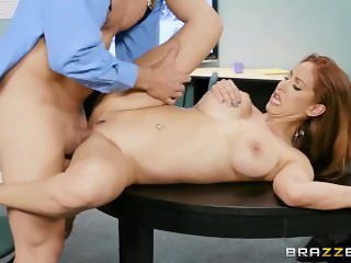 Brazzers - Isis Teaches A Mall Cop A Lesson
