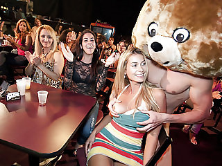 Pretty Faces Get Fucked By The Dancing Bear