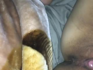Squirting while he snores