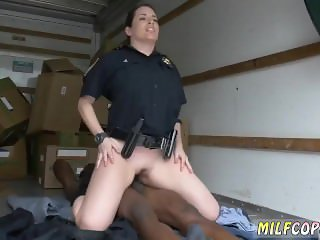Face cop blonde milf cream pie first time