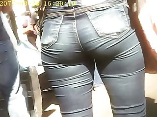 RABO GOSTOSO NO JEANS (BIG ASS OF BRUNETTE) 04