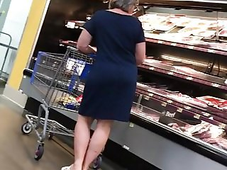 Cock tease PAWG Granny has dirty feet