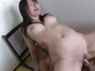Japanese - Chubby Babe Fucked and CIM Facial.