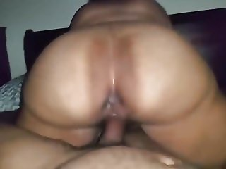 Black BBW Riding Dick