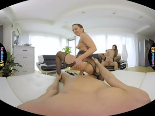 SexBabesVR - Paris Friend Part 1 with Clea Gaultier and Blue Angel