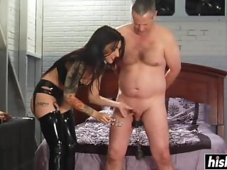 Cybill Troy tortures him in hardcore fashion