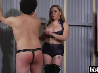Aiden Starr loves to be in charge
